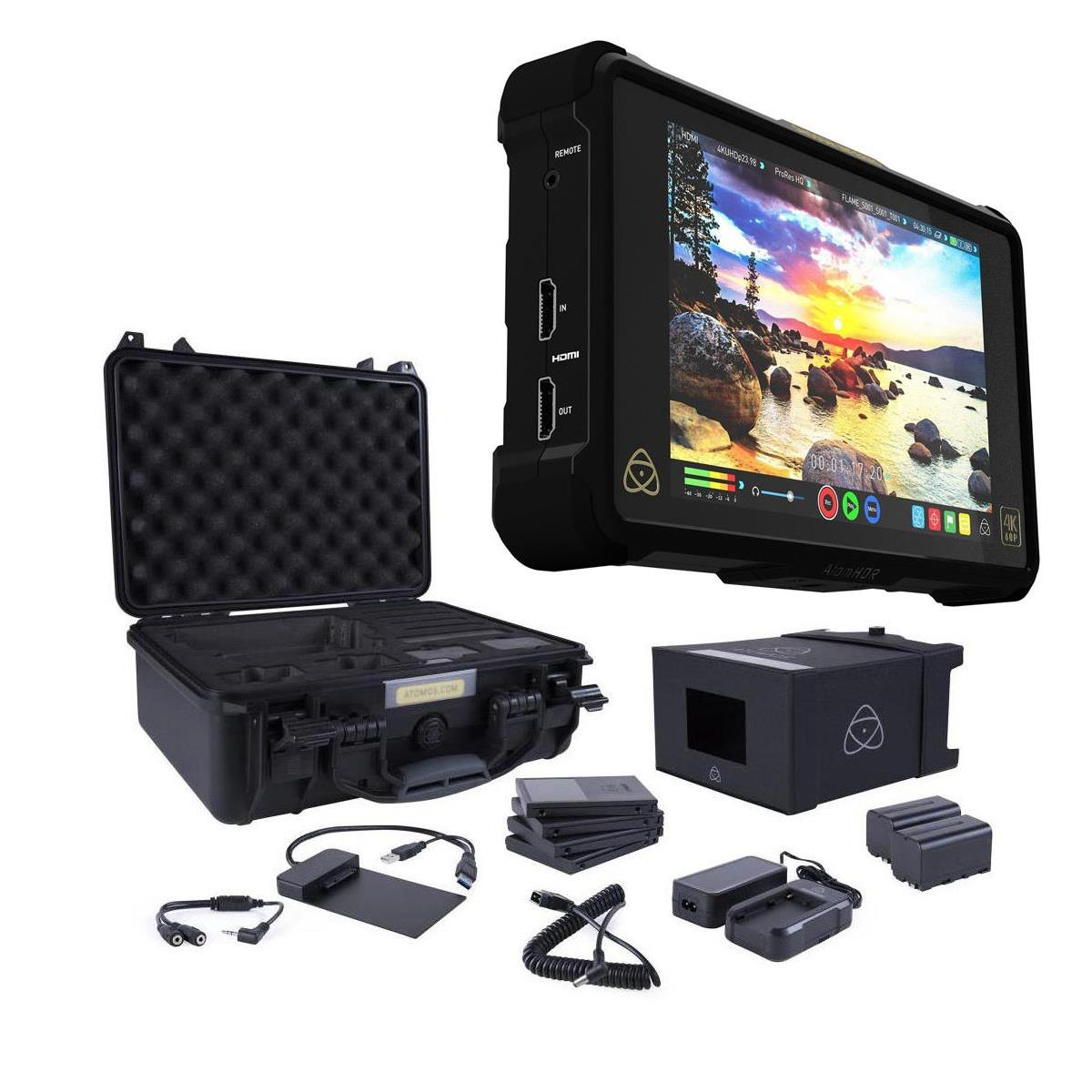 Atomos Shogun Inferno - All-in-One Monitor Recorder w/Accessory Kit, 1920x1200