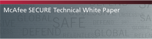 McAfee secure technical whitepaper