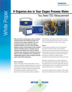 On-line monitoring of TOC in the Water Cycle - White Paper