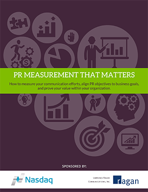 NASDAQ PR Measurement Guide Whitepaper Cove