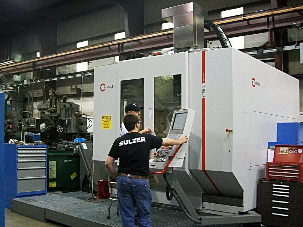 The new impellers were designed and manufactured at Sulzer's Houston Service Center in Texas