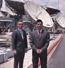 Hermes and MEASAT executives