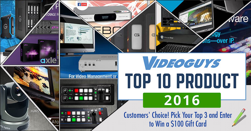 Videoguys Top 10 of 2016